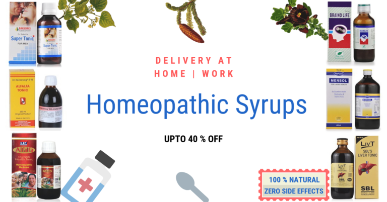 Homeopathic Syrups