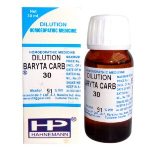 HP Dilution Baryta Carb 30