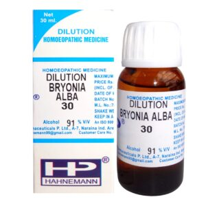 HP Dilution Bryonia Alba 30