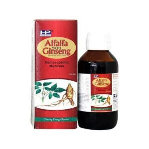 Hahnemann Alfalfa With Ginseng Syrup